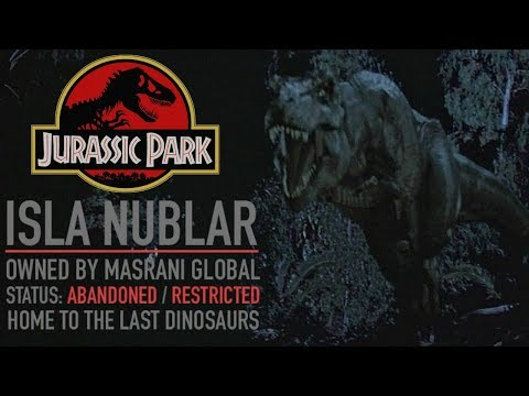 The Dark Past Of Jurassic Park - The History Of Isla Nublar