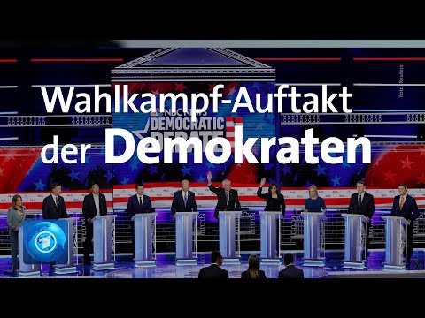 USA: Wahlkampf 2020 - die Kandidaten der Demokraten s ...