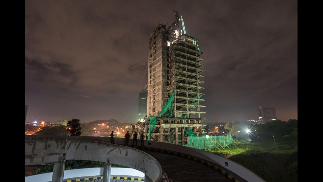 Gedung Panin Demolition Highlight