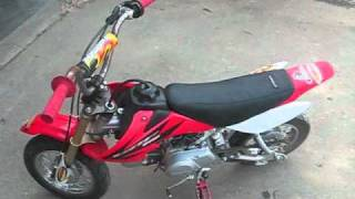 9. my new 2006 crf50 crf 50