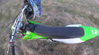 3. 2005 KAWASAKI KLX 125 REVIEW