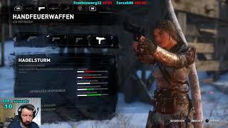 Rise of the Tomb Raider #10•Klettern 2.0 ! [Livestream]