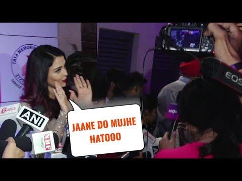 SHOCKING Aishwarya Rai IGNORES And Leaves On MeToo