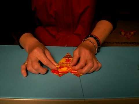 蓮花鞋折法 - 歐巴尚用往生紙或壽生紙教您摺鞋子.