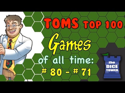 Tom - Part three of Tom's Top 100 Games of all Time! Buy great games at http://www.coolstuffinc.com Find more reviews and videos at http://www.dicetower.com.