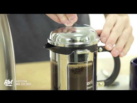 How to Use a Bodum Chambord 4 Cup French Press Coffee Maker – 1117116