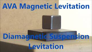 This vid a basic look at Diamagnetic Suspension Levitation using magnets and Pyrolytic Graphite on a basic rig.By AVA Magnetic Levitation AUShttp://www.ava-magneticlevitation.com/This form a Magnetic/Diamagnetic Levitation only uses what you see in this vid to work and anyone can try it.For fun or science !If your interested please look at my sales web page or contact me about a custom build project Adam VA of AVA Magnetic Levitation AUS