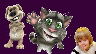 Talking Tom Cat Funny videos in english - Kids Babies Game - GERTIT vs Tom Cat Screaming 2