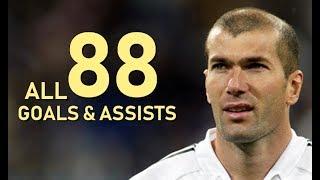 Video Zinedine Zidane All 88 Goals & Assists For Real Madrid MP3, 3GP, MP4, WEBM, AVI, FLV Juli 2019