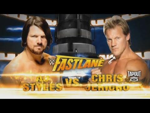Aj Styles Vs Chris Jericho Fastlane 2016 Highlights