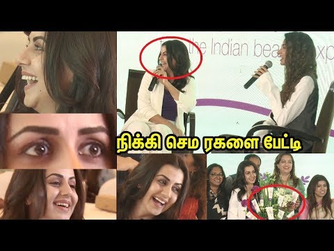 Beautiful Nikki Galrani launches Unique range of 'Beauty Nutrition' Naturals Products