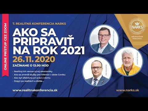 7. realitná konferencia NARKS 2020 – pozvánka