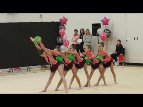 Trillium Rhythmic Novice Group 5 Balls (видео)