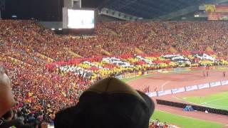 Nyanyian Lagu Negara (Selangor Vs Kedah Final Piala Malaysia 2016)