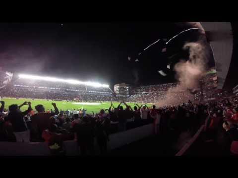 Recibimiento Independiente Racing 2017 - La Barra del Rojo - Independiente