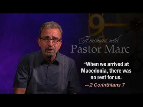 "A Moment with Pastor Marc #42<br /><strong>""Encourage!""</strong>"
