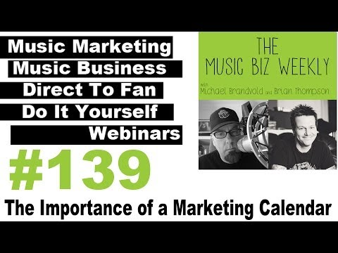 The Importance of a Marketing Calendar for your Music Marketing Efforts