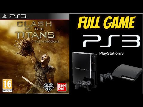Clash Of the Titans 100% Walkthrough/Longplay PS3 NO COMMENTARY