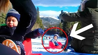 Video Almost Lost Our Baby Down The Mountain! MP3, 3GP, MP4, WEBM, AVI, FLV Januari 2018