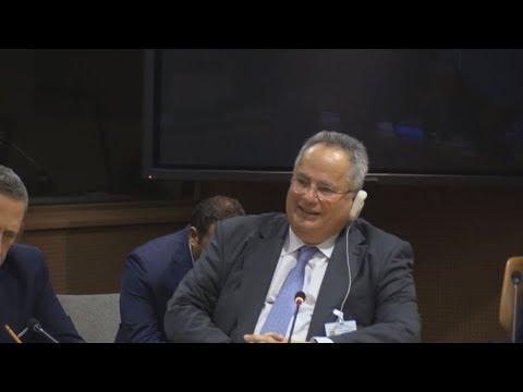 Ολοκληρώθηκε το πρόγραμμα του Έλληνα υπουργού Εξωτερικών στο πλαίσιο της Γενικής Συνέλευσης του ΟHE
