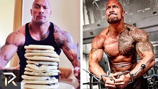 Video Dwayne Johnson's INSANE Diet and Workouts That Make Him RIPPED MP3, 3GP, MP4, WEBM, AVI, FLV Februari 2019
