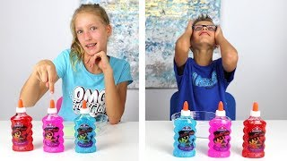 Video Twin Telepathy Slime Challenge!!!!! MP3, 3GP, MP4, WEBM, AVI, FLV September 2018