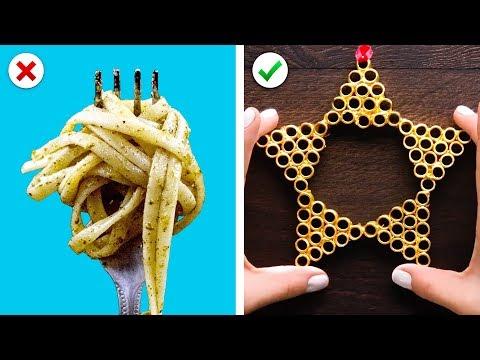 Turn Pasta into Christmas Decor, Plus More DIY Christmas Decoration Ideas - Thời lượng: 10 phút.