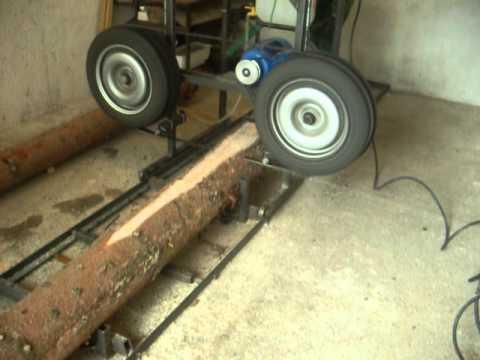 rucni rad - Brenta rucni rad homemade bandsaw mill 2.