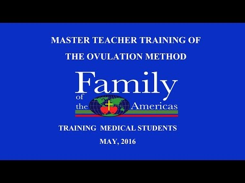 Master Teacher Training of Natural Family Planning