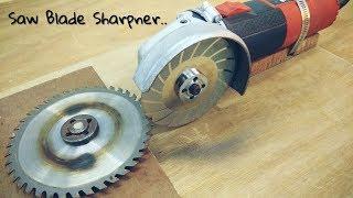 Video Making Saw Blade Sharpener using a Hand Grinder || Angle Grinder Hack MP3, 3GP, MP4, WEBM, AVI, FLV November 2017
