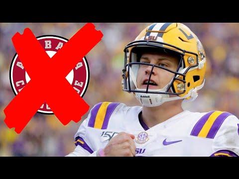 LSU WILL BEAT BAMA! Joe Burrow For The HEISMAN! LSU vs Alabama Preview. Can LSU beat Alabama?