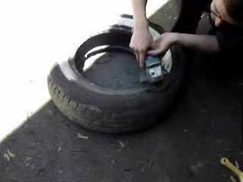tires - How to make your own wide white wall tires from any narrow white wall or raised white letter tire. As always, you do this at your own risk.