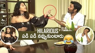 Video Actress Kajol Making Super Fun On Dhanush | Hilarious | #VIP2 | TFPC MP3, 3GP, MP4, WEBM, AVI, FLV Januari 2018