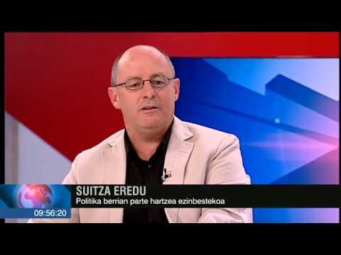 Juan Karlos Izagirre Donostiako alkatea Egun On Euskadi saioan