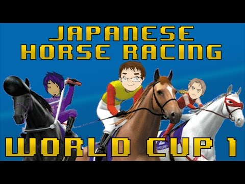 Japan World Cup 1 - 100% Real Horses - Co-op Corps (видео)