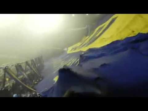 Video - Todos los borrachos se quieren matar  Baja telon - La 12 - Boca Juniors - Argentina