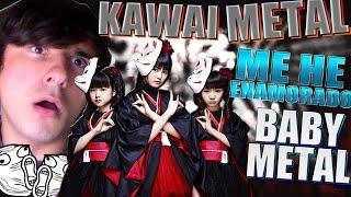 KAWAII METAL   BabyMetal Gimme Chocolate   Vídeo Reacción   Sisiuve & MrGalaxyCF
