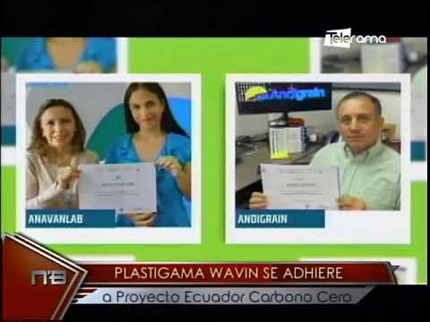 Plastigama Wavin se adhiere a proyecto Ecuador Carbono Cero