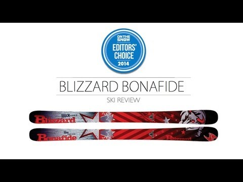 2014 Blizzard Bonafide Ski Review - Men's All Mountain Editors' Choice