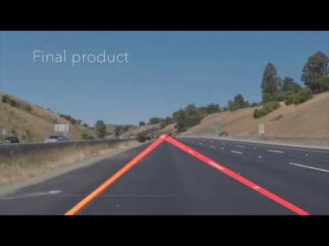 Udacity Self-Driving Car Nanodegree project 1 - Finding Lane Lines