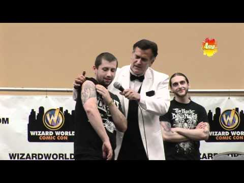 Bruce Campbell Tattoo contest (Comic Vibe) Philadelphia Comic Con 2011