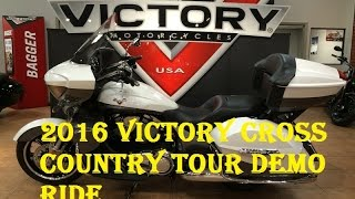 9. 2016 Victory Cross Country Tour Demo Ride