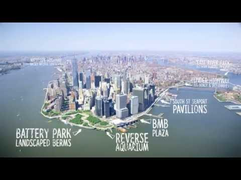 The Dryline – BIG's vision for New York City