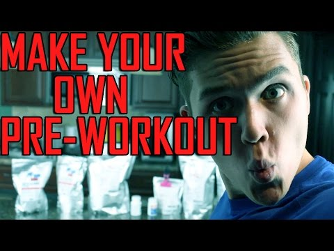 Make Your Own Pre-Workout Supplement