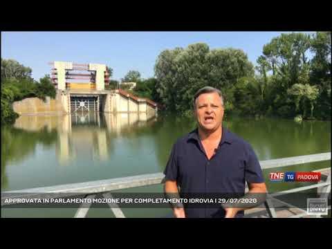 APPROVATA IN PARLAMENTO MOZIONE PER COMPLETAMENTO IDROVIA | 29/07/2020