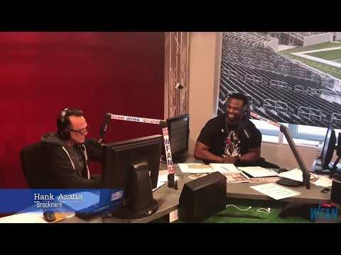 """Jim Brockmire interviews Bart Scott about the """"butt fumble"""""""
