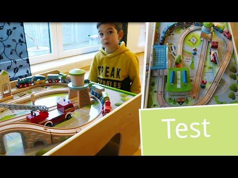 Test: EverEarth Spieltisch für Autos und Eisenbahnen   babyartikel.de