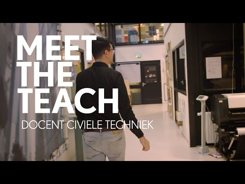 Docent Civiele Techniek, Paul - Meet the Teach #1