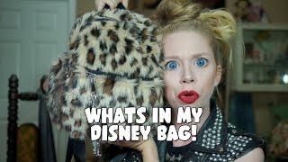 WHAT'S IN MY DISNEY WORLD BAG! by GRAV3YARDGIRL