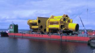 Video #Solutions #Howwedoit How Sarens loaded out a 23000t jacket in 2014 in Norway MP3, 3GP, MP4, WEBM, AVI, FLV Agustus 2017